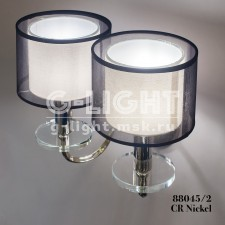 Бра G-Light 88045/2 CR Nickel